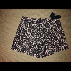 shorts 🛍 lace BCBGMAXAZRIA